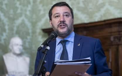"""Salvini: """"A settembre no elezioni, si fa la manovra"""""""