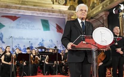 """2 giugno, Mattarella: """"Democrazia incompatibile con chi cerca nemici"""""""