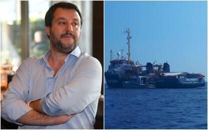 "Sea Watch, Salvini a Sky Tg24: ""Francia dà lezioni? Apra i suoi porti"""