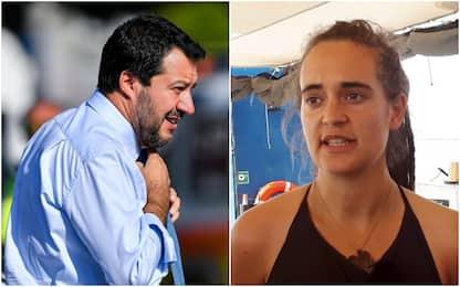 "Migranti, chiusa indagine su Salvini. Pm: ""Diffamò Carola Rackete"""