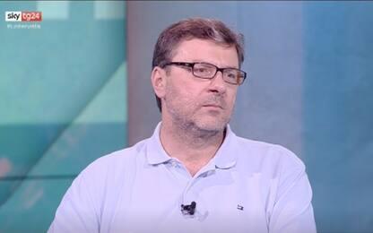 """Giorgetti a Sky TG24: """"Io commissario Ue? Non sono interessato"""""""