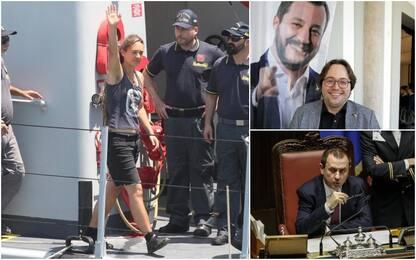 Sea Watch, tensione alla Camera dopo scarcerazione Carola Rackete