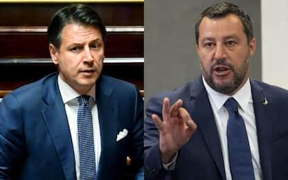 """Crisi di governo,  Salvini: """"Diamo la parola agli Italiani"""""""