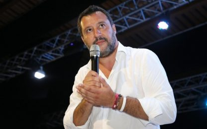 """Salvini a Cervia: """"Entro settembre sì M5s o facciamo da soli"""""""
