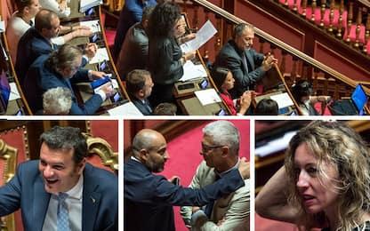 Tav, scontro al Senato. Lega vota quella del Pd, M5s attacca: Inciucio