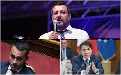 """Salvini a Conte e Di Maio: """"Cambio di rotta entro lunedì o sarà crisi"""""""