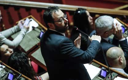 """Crisi governo, Patuanelli al Senato: """"M5S non ha paura del voto"""".VIDEO"""