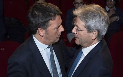 """L'audio di Renzi: """"Gentiloni prova a far saltare accordo con M5s"""""""