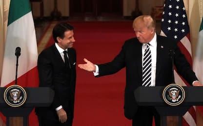 """Trump a Farage: """"Pure l'Italia starebbe molto meglio senza la Ue"""""""
