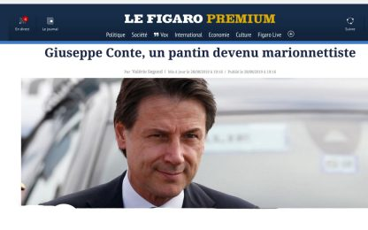 Conte, l'incarico sulla stampa estera. FOTO
