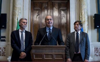 """Consultazioni, Zingaretti: """"Programma sia di svolta per il Paese"""""""