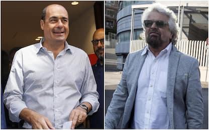 Crisi governo, Grillo: occasione unica. Zingaretti: Cambiamo tutto