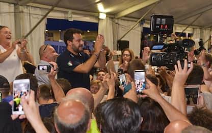 """Salvini ai grillini delusi: """"Le porte della Lega sono sempre aperte"""""""