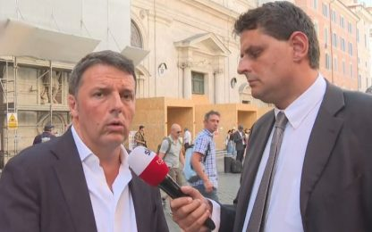 Matteo Renzi a Sky tg24: piattaforma Rousseau un problema M5S. VIDEO