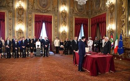 Nasce il governo Conte bis, il giuramento dei ministri. FOTO