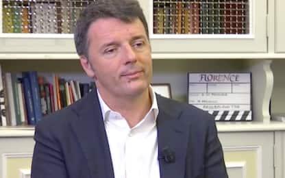 """Renzi a Sky TG24: """"Non è il governo che sognavo ma lo sosterrò"""""""