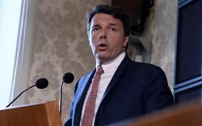 """Renzi: """"Piano di investimenti verdi, ma senza alzare tasse"""""""