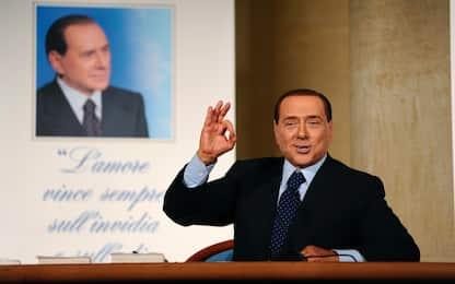 Tv, Milan, politica e processi: fotostoria di Silvio Berlusconi