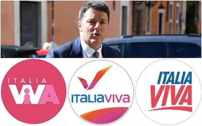 Renzi lancia il voto online per scegliere il simbolo di Italia Viva