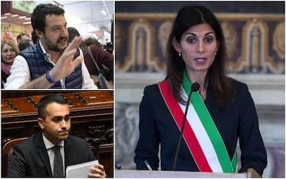 Di Maio: Poteri speciali a Raggi per Roma. Salvini: Tanto non è capace