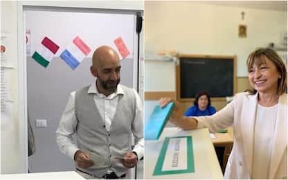 Elezioni regionali Umbria, il voto dei candidati. FOTO