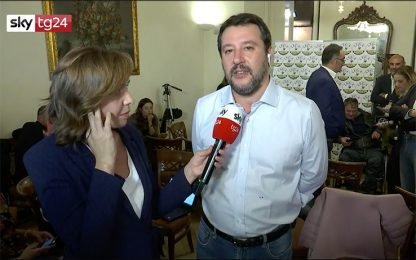 """Regionali Umbria, Salvini: """"Di Maio ha scelto poltrona"""". VIDEO"""