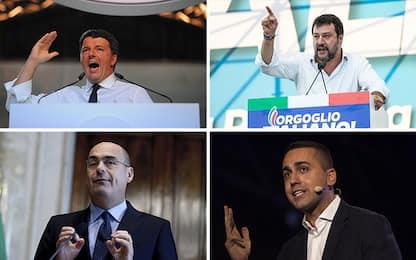 Sondaggi politici Swg: Lega al 26,3%, Pd al 19,8%, M5s al 16%