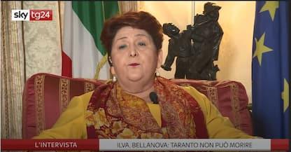 Ex Ilva, Bellanova a Sky Tg24: Taranto non può morire. VIDEO