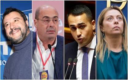 Sondaggi politici, Emg: se si votasse oggi la Lega sarebbe in testa