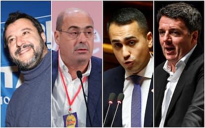 Sondaggi politici, Ixè: crollo M5S, giù Italia Viva e Lega