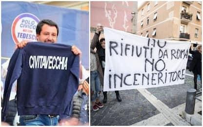 Salvini: pronto a bloccare camion di rifiuti di Roma a Civitavecchia