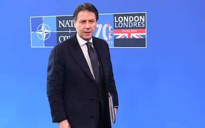 """Vertice Nato, Conte a Trump: """"Su 5G sicurezza dell'Italia è garantita"""""""