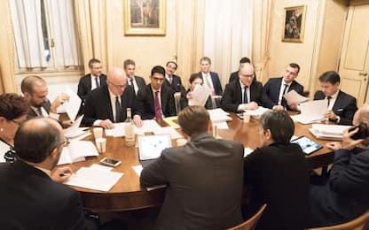 Vertice di governo, i nodi: giustizia, autonomia, crisi aziendali