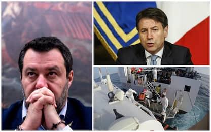 Caso Gregoretti, dallo scontro Salvini-Conte al processo. Le tappe