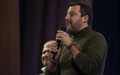 """Manovra 2020, Salvini: """"Carbone sotto l'albero per imprese e famiglie"""""""