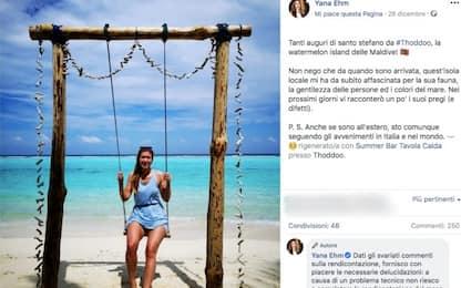 M5s, deputata Yana Ehm posta foto dalle Maldive. È polemica sui social