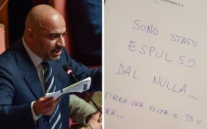 """Paragone cacciato dal M5S. Il senatore: """"Sono stato espulso dal nulla"""""""