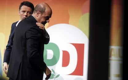 """Pd, la svolta di Zingaretti. Renzi: """"Ci aprono un'autostrada"""""""
