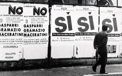 Storia referendum elettorali, dal trionfo di Segni al flop del 2009