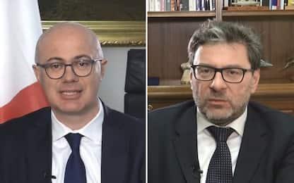 La regola del gioco,  D'Incà e Giorgetti sulla legge elettorale. VIDEO