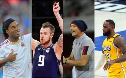 Non solo Mihajlovic, endorsement sportivi ai politici. FOTO