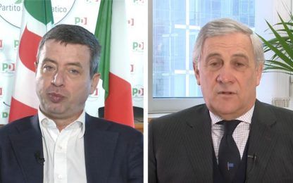 La regola del gioco, Orlando e Tajani sulla legge elettorale. VIDEO