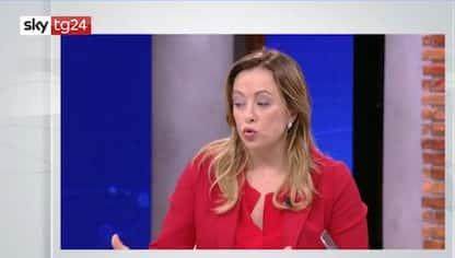 Prescrizione, Meloni a Sky Tg24: spero che Renzi vada fino in fondo