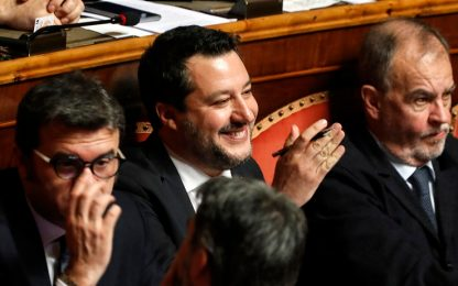 Caso Gregoretti, il discorso di Matteo Salvini al Senato. VIDEO