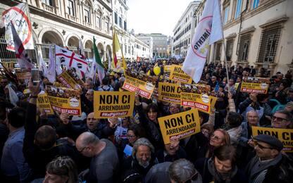 M5S torna in piazza, a Roma la manifestazione contro i vitalizi