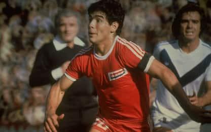 Diego Armando Maradona, 40 anni fa il suo primo gol memorabile. VIDEO