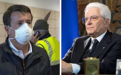 "Coronavirus, Mattarella telefona al sindaco di Bergamo: ""Tenete duro"""
