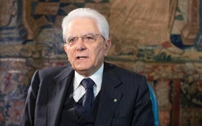 """Coronavirus, Mattarella: """"Decimata la generazione più anziana"""""""