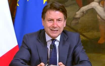 """Coronavirus, Conte: """"Restrizioni prorogate fino al 13 aprile"""""""