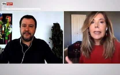 """Coronavirus, Salvini a Sky Tg24: """"Il Mes è un furto"""""""